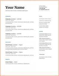 Google Resume Examples 2 Cover Letter Template Google Docs Regarding