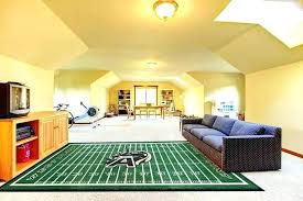 football area rug interesting field carpet for man cave rugs cars sports with idea turf ru football area rug baseball field
