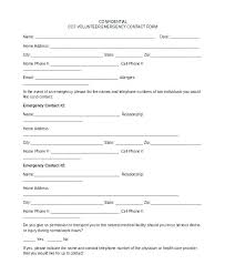 Community Service Form Custom Church Volunteer Form Template Events Free Parent Cokolade