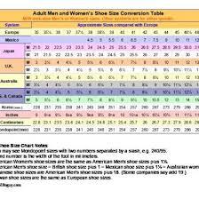 International Shoe Size Chart 51436q5kwv4j