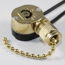 optional pull chain extension can be cut to desired length