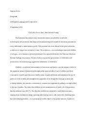 florence kelley essay caleb alcime period rd ap language  4 pages florence kelley