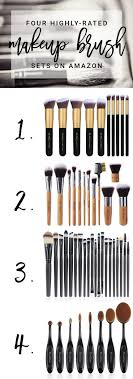 the best affordable makeup brush sets on amazon so many steals