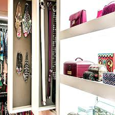 Pull Out Vertical Jewelry Cabinets
