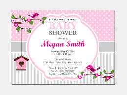 Free Microsoft Word Invitation Templates New Baby Shower Invitation Template For Microsoft Word Party XYZ