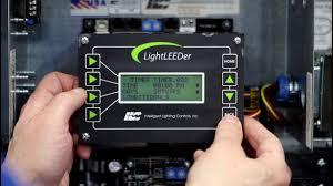 ilc lightleeder training setting a timer intelligent lighting controls