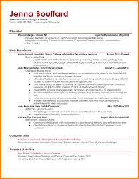 7 Resume Sample College Student Letmenatalya