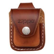 <b>Чехол ZIPPO для</b> широкой зажигалки, кожа, с кожаным ...