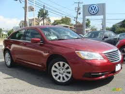 chrysler 200 2014 red. deep cherry red crystal pearl chrysler 200 2014 4