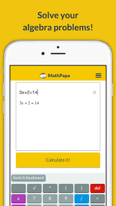mathpapa algebra calculator