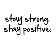Positive Quote Mesmerizing Stay Strong Stay Positive Quote Mirror Decal Quotes Vinyl Wall