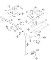 Jenn air jds9860aab slide in dual fuel downdraft range timer stove rh appliancetimers whirlpool range wiring diagram kenmore range wiring diagram