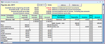 Budget Salary Calculator Income And Expenditure Calculator Private Excel