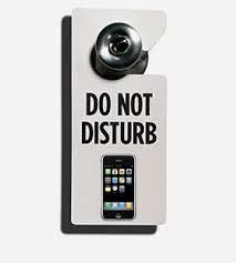 Image result for do not disturb cell phone