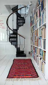 Small Home Library Under Stair Storage