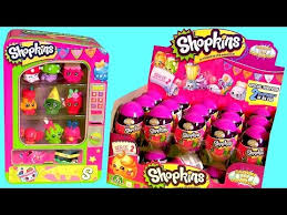 Shopkins Vending Machine Unique Box Of Shopkins Surprise Eggs NEW Toys Using Shopkins Vending