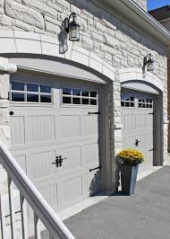 Faux Garage Door Hardware Chi Carriage House Collection Model 5983 In Sandstone Chi