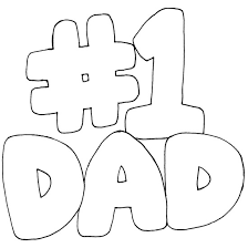 Small Picture Number 1 Dad Coloring Pages of Fathers Day Coloring Pages