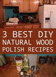 diy natural wood polish recipes