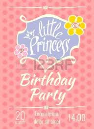 Birthday Party Invitation Card Template Free Princess Birthday Party Invitations Little Princess Birthday Party