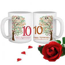 10th wedding anniversary gift