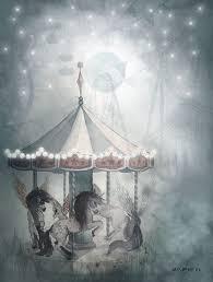 "<b>Набор постеров</b> Mrs Mighetto ""Mr William/Night Carousel"", <b>2</b> шт, 18 ..."