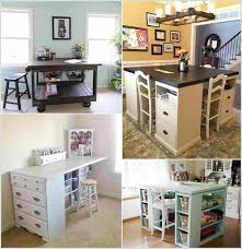 Diy Craft Room For Designs 10 Cool Table Ideas Your A