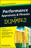 Employee Appraisal Phrases: Productivity and Timeliness - dummies