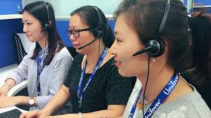 Contact us | Unilever global company website Careline staff at work