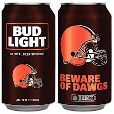 Bud Light Nfl 36 Pack 2017 Bud Light Nfl Cans Return For 2017 Season Cleveland Com