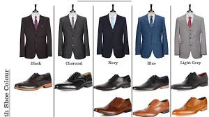Shoes With Light Grey Pants Match Your Suit And Shoes Perfectly With This Cheat Sheet