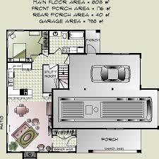 Garage Apartment Plan 6015 Has 728 Square Feet Of Living Space 2 Garage With Apartment Floor Plans
