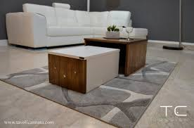 modern coffee table low wooden living