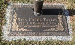 Rita Carol Taylor (1953-2016) - Find A Grave Memorial