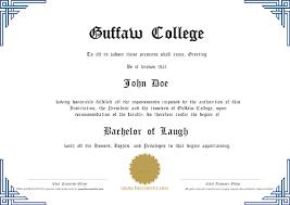 Fake Diploma Template Free Free Certificates