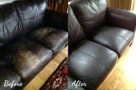 olive oil on leather honey before after cleaner