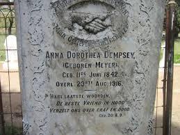 Anna Dorothea Dempsey (Meyer) (1842 - 1916) - Genealogy