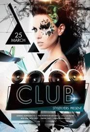 club flyer templates free nightclub flyer psd templates download styleflyers