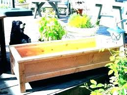 garden planter bench bench garden bench seat with planter box