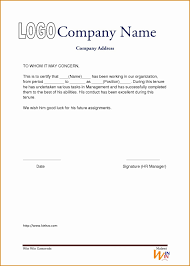 Free Work Experience Letters Experience Certificate New Work Letter Pdf Format Valid Free