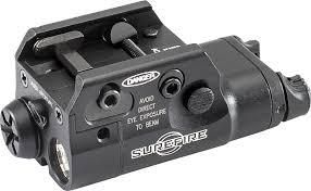Surefire Tactical Light Laser Xc2 Ultra Compact Led Handgun Pistol Light With Red Laser