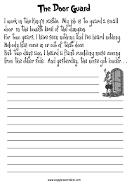 writing activities for  rd graders