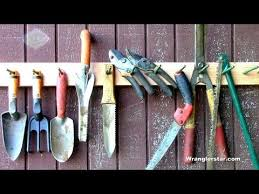 how to organizing garden tools you