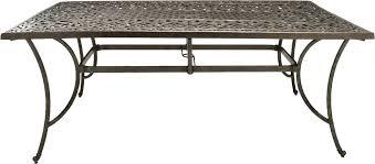 aluminum outdoor table cast aluminum patio table rectangular on brilliant home design trend with cast aluminum