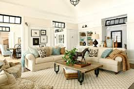 incredible neutral color palette living room traditional with mixed patterns in neutral color area rugs