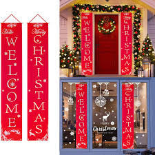 Garage Light Christmas Decorations Merry Christmas Banner Aywewii Christmas Porch Sign Christmas Decorations Indoor Outdoor Christmas Signs Decor For Home Wall Door Office Garage