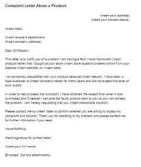 Complain Business Letter How To Write A Business Complaint Letter Scrumps