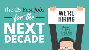 Best Professions The 25 Best Jobs For The Next Decade Thebestschools Org