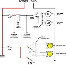 headlight dimmer relay wiring diagram wiring diagram and chevrolet headlight switch wiring diagram at Headlight Dimmer Switch Wiring Diagram
