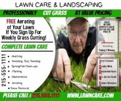 lawn care advertising templates lawn service flyer templates postermywall